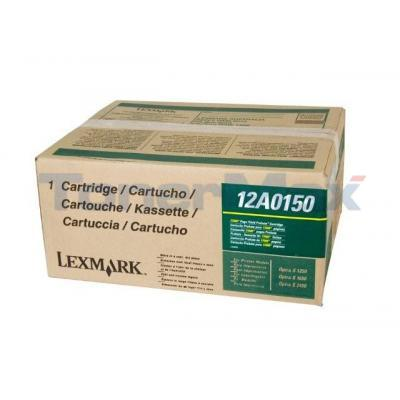 LEXMARK OPTRA S1250 RECONDITIONED PRINT CART BLACK HY